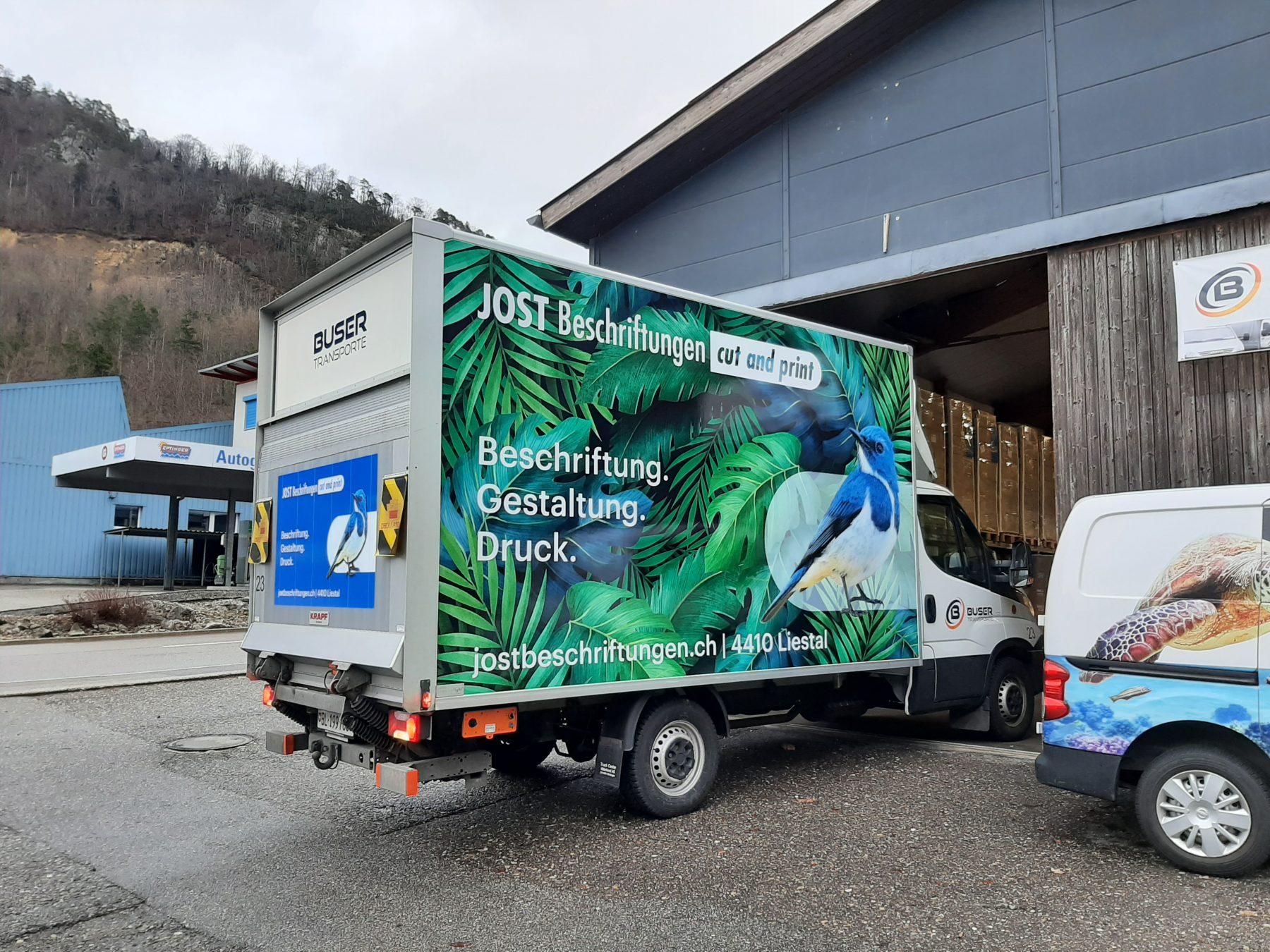 New beauty on the road! | JOST Beschriftungen Liestal
