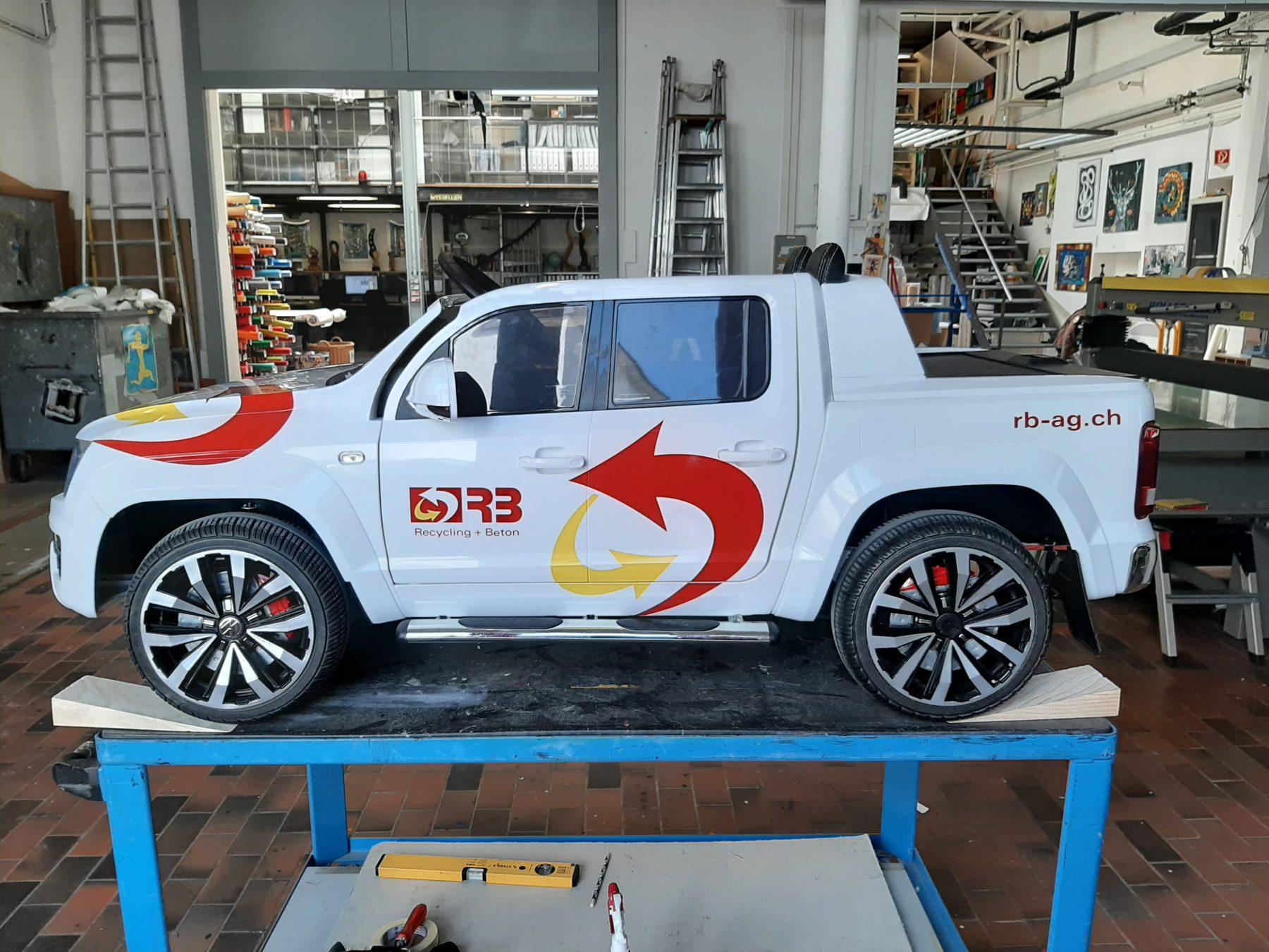 VW Amarok Mini   JOST Beschriftungen Liestal