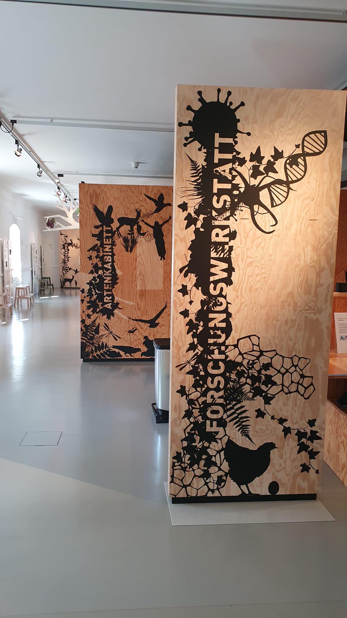 Museum BL- Wildes Baselbiet   JOST Beschriftungen Liestal