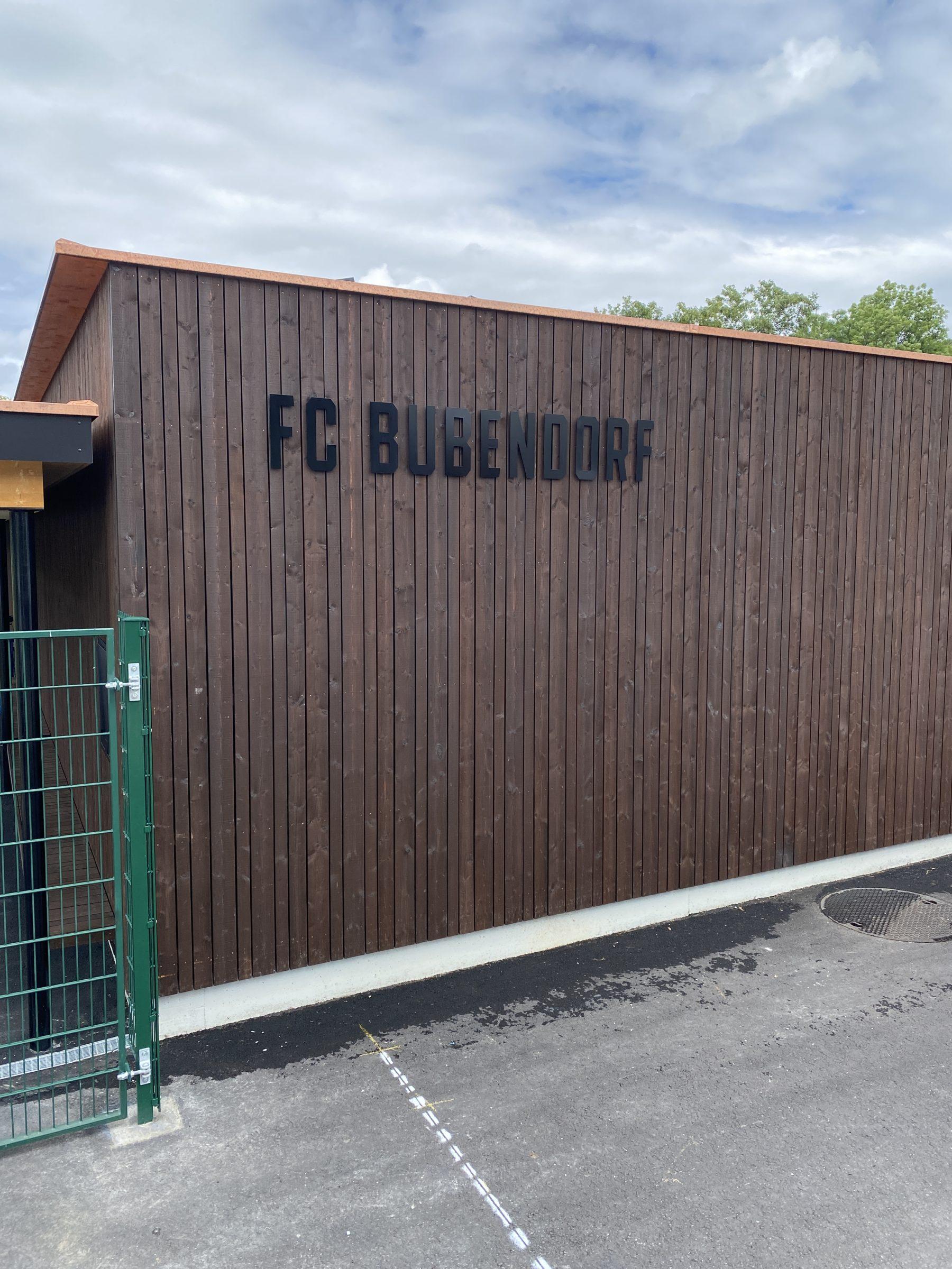Neues Clubhaus   JOST Beschriftungen Liestal